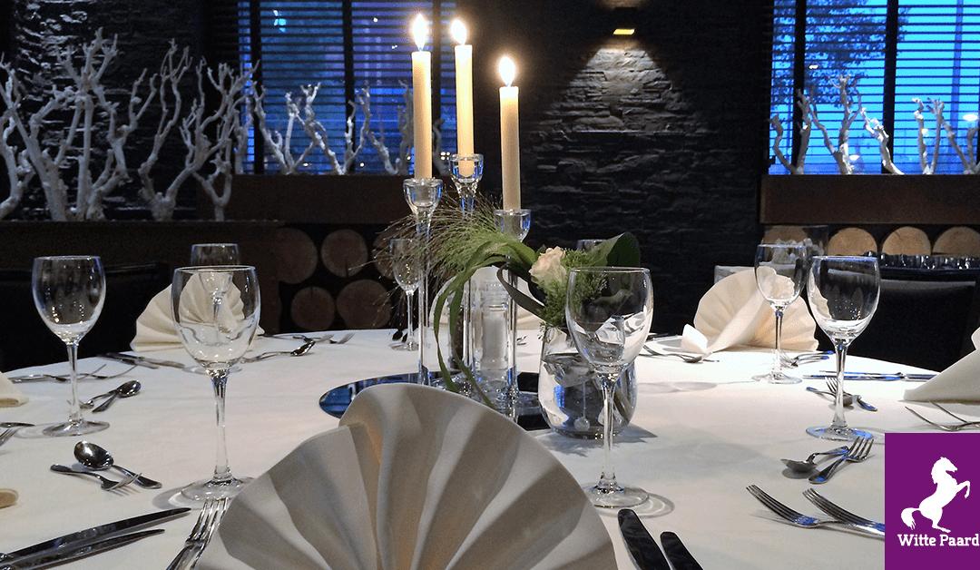 Dineren bij het Witte Paard